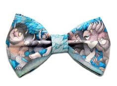 Where The Wild Things Are Hair Bow  Novelty by uniquechicbowtique, $8.99