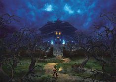 Video game urban legends that are too creepy to consider Photos) Luigi's Mansion, Cartoon Painting, Mario And Luigi, Urban Legends, Super Mario Bros, Halloween Fun, Pixel Art, Creepy, Original Art