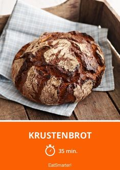 Food And Drink 171629435781646984 - Krustenbrot – smarter – Zeit: 35 Min. Dutch Recipes, Russian Recipes, Bread Recipes, French Recipes, Seafood Dishes, Seafood Recipes, French Desserts, Seafood Restaurant, French Pastries