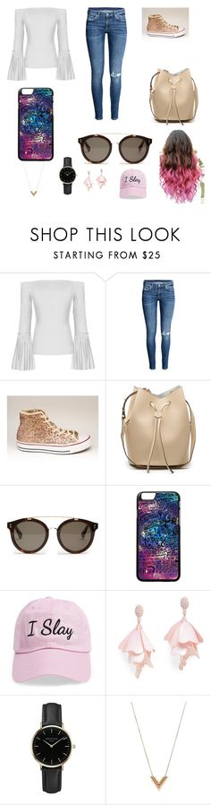 """""""Hurry up! It's spring!"""" by a2mber ❤ liked on Polyvore featuring STELLA McCARTNEY, Steve Madden, Oscar de la Renta Pink Label, ROSEFIELD, Louis Vuitton, Spring, complicated and fashionably"""