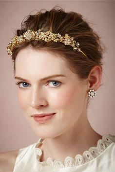 Issepa Headband in Bride Veils & Headpieces at BHLDN