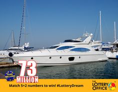 No tricks. Simply match 5+2 numbers to win €73M! #LotteryDream #lotto#lottery #LotteryOffice