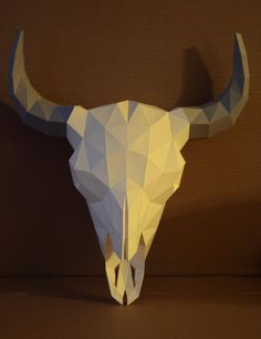 Pro tip: gift your papercraft to anamateurphotographer. I got around to updating my bison skull papercraft model. Aside from a major meshing overhaul, this version can have its horns in...