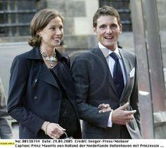 Prins Maurits en prinses Marilène