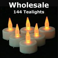 Check out the deal on Wholesale Tea Light Candles 144 With Batteries at Battery Operated Candles