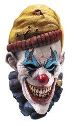 Joker styled halloween mask. Scare off people around you.  Here is a prank idea: Scare off your pet :P