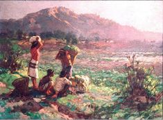 Go Philippines: Fernando C. Amorsolo, the Grand Old Man of Philippine Art Filipino Art, Philippine Art, Filipiniana, Artist Bio, World's Fair, 13 Year Olds, Old Men, Impressionist, Landscape Paintings