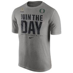 Oregon Ducks Nike 2015 College Football Playoff Bound Team Legend T-Shirt – Gray