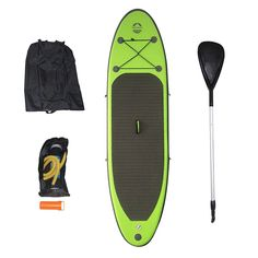 Stand Up Paddleboards 177504: Outdoor Tuff Inflatable Backpack Paddle Board With Adjustable Paddle, 150-Pound -> BUY IT NOW ONLY: $299 on eBay!