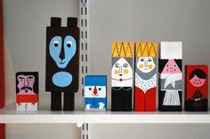 Wood figures By Ingela P Arrhenius