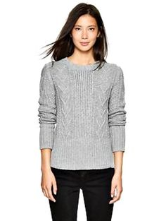Friday Fashion-Cable Knit Sweater