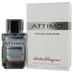 Attimo Pour Homme FOR MEN by Salvatore Ferragamo - 3.4 oz EDT Spray by ATTIMO. $44.00. Attimo Pour Homme for MEN By Salvatore Ferragamo 3.4 Oz EDT Spray. ATTIMO by for MEN EDT SPRAY 3.4 OZ