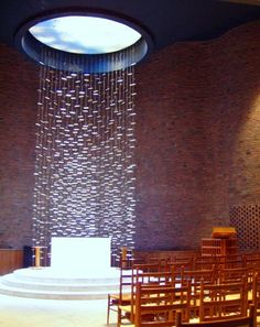 MIT Chapel (1955) by Eero Saarinenm Cambridge, Massachusetts, USA