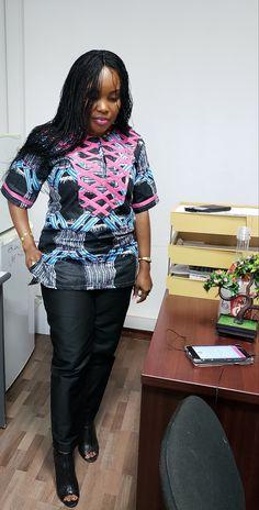 African Tops, African Wear, African Dress, Suit Fashion, Curvy Fashion, Fashion Show, Fashion Outfits, African Clothing For Men, African Fashion Dresses