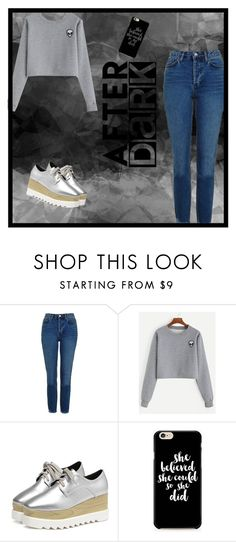"""""""Geen titel #262"""" by x-essie-x ❤ liked on Polyvore featuring Topshop, MyStyle and back2school"""