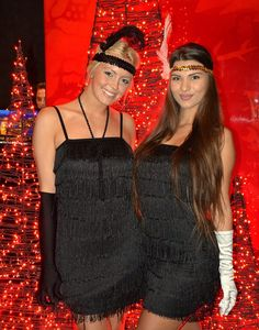 """Nouba girls dressed up in 1920's fashion for a """"Great Gatsby"""" theme event at Buddha-Bar Budapest.  #nouba #bethebrand"""