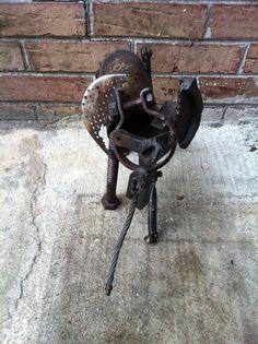 """Speedy"" the elephant Reclaimed Art/Metal Frederick Doran Elephants, Metal, Design, Art, Manualidades, Art Background, Kunst, Metals"