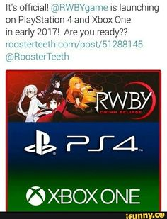 RWBY I'm excited for this game!!