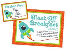 Blast off Breakfast