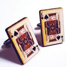 King of Spades cufflinks