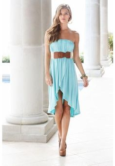 JERSEY HI-LOW WRAPPED TUBE DRESS from Body Central || Get 5% cash back - http://www.studentrate.com/bu/get-bu-student-deals/Body-Central-Discounts--amp--Coupons--/0