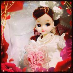 オークションでげとしたウェディング電報限定のリカちゃん?きゃわたんwww I+got+the+Licca+doll+in+the+auction. Its+a+wedding+telegram+premium+doll