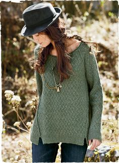 I soooo want!! Contemporary version of the classic Irish fisherman sweater. The perfect weekend staple, knit in a sculptural basketweave of light and frothy royal alpaca. The eased silhouette is styled with raglan sleeves, angled seaming and side slits.