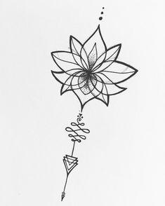 New tattoo lotus rug 40 ideas Unalome Tattoo, Dotwork Tattoo Mandala, Lotusblume Tattoo, Sternum Tattoo, Tattoo Drawings, Hamsa Tattoo, Mini Tattoos, Little Tattoos, Flower Tattoos