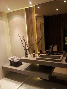 Detalhes banheiro suite London