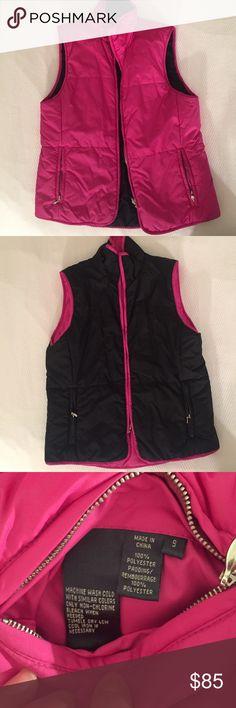 NWOT Lauren by Ralph Lauren reversible puffer vest NWOT Reversible pink and black Lauren by Ralph Lauren puffer vest.  Fun, versatile, and cozy! Lauren Ralph Lauren Jackets & Coats Vests
