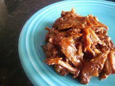Creatively Domestic: Slow Cooker BBQ Coke Pork