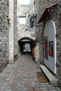 Catherine´s passage , Tallinn, Estonia