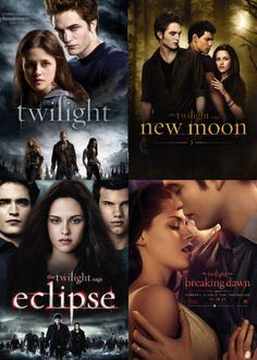 Twilight Saga...read them and seen them , own them both and already have tixs for part 1....Nov 18 can't wait.