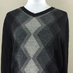 Apt 9 Woman's Argyle Black Sweater Small Shirt | eBay