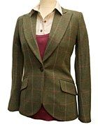 LiBErty FREEdom Tailored Jacket Size 12 in Mosside Tweed