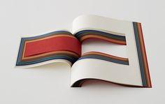 japanese creatives craft subtle works for the takeo paper show : 15 japanese designers participate in takeo paper show Paper Book, Paper Art, Paper Crafts, Book Design, Layout Design, Design Design, Cover Design, Takeo, Publication Design