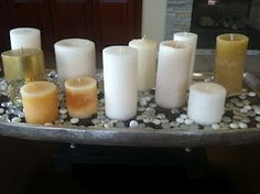 Candles, candles, candles...