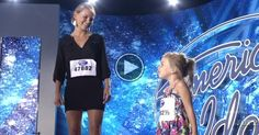Before She Can Sing Her Daughter Takes Her Turn And Won The Judges' Hearts.