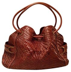 Cole Haan Genevieve Like New! Woven Leather Weave Hobo Satchel Handbag Saddle Brown Cognac Tote Bag. Get one of the hottest styles of the season! The Cole Haan Genevieve Like New! Woven Leather Weave Hobo Satchel Handbag Saddle Brown Cognac Tote Bag is a top 10 member favorite on Tradesy. Save on yours before they're sold out! ABSOLUTELY GORGEOUS!!! MINT / LIKE NEW CONDITION!!! VERY RARE IN THIS COLOR, SIZE & AMAZING CONDITION!!! BEAUTIFUL GENEVIEVE SADDLE WEAVE DENNEY BAG!!! SALE!!! WOW!!!