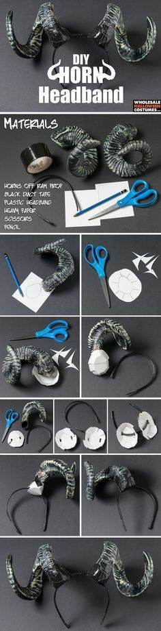 DIY Horn Headband More