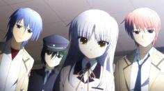 Hinata, Naoi, Kanade & Yuzuru, Angel Beats