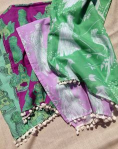 Quill Notes: What's in your beach bag + GIVEAWAY | Cotton + Quill Cotton-Voile Scarves