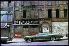 """Harlem, 1985 by Matt Weber "" - New York City Feelings New York Street, New York City, Harlem History, New York Architecture, Vintage New York, Chrysler Building, Old City, Street Photography, Urban Photography"