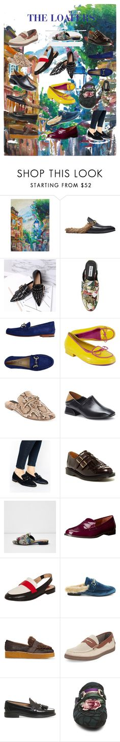"""//THE LOAFERS//"" by claraxschmidt on Polyvore featuring Gucci, Steve Madden, Boemos, Kate Spade, Steven by Steve Madden, WithChic, MANGO, Dr. Martens, River Island and Lauren Ralph Lauren"