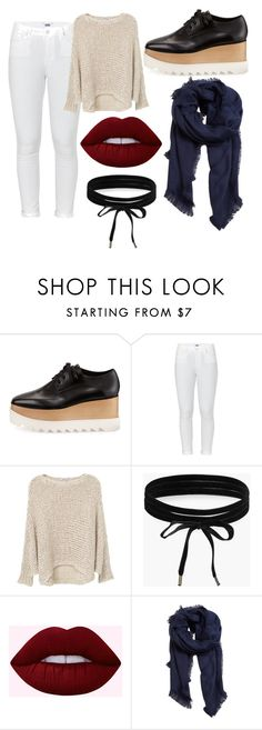 """""""Taeyoon#oxford_series"""" by taeyoon on Polyvore featuring STELLA McCARTNEY, Paige Denim, MANGO and Boohoo"""