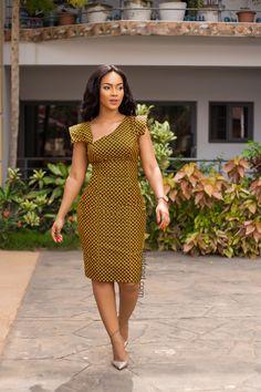Next Previous African Print Midi Dress- Asymmetric Neckline – Ankara Print – African Dress – Handmade – Africa Clo Next Previous African Fashion Designers, African Print Fashion, Africa Fashion, Fashion Prints, Modern African Fashion, African Print Dresses, African Fashion Dresses, African Dress, Fashion Outfits