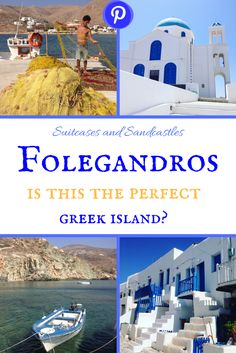 Folegandros: Is this the Perfect Greek Island? This tiny island in the Cyclades is one of the best Greek islands we've ever visited. It's beautiful, it's laidback and remarkably untouristy. find out where to find the best beaches and how to explore the historic old town of this perfect Greek island. Plus lots of photos to get you dreaming of Greece. #bestgreekisland #folegandros #familytravelgreece #laidbackgreekislands #bestislandscyclades