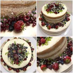 beeren*naked cake*blumen