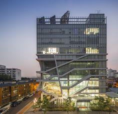 Centro Cultural & de Bem-Estar Seongdong / UnSangDong Architects