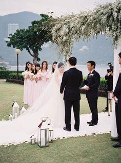 Hong Kong Wedding from Living Cinema + Steve Steinhardt - Style Me Pretty